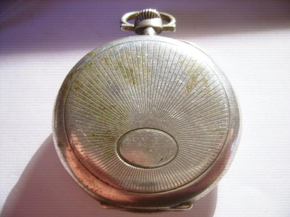 Ancienne montre argent gousset ? Marque Chronomètre ?  20 Bosc-le-Hard (76)