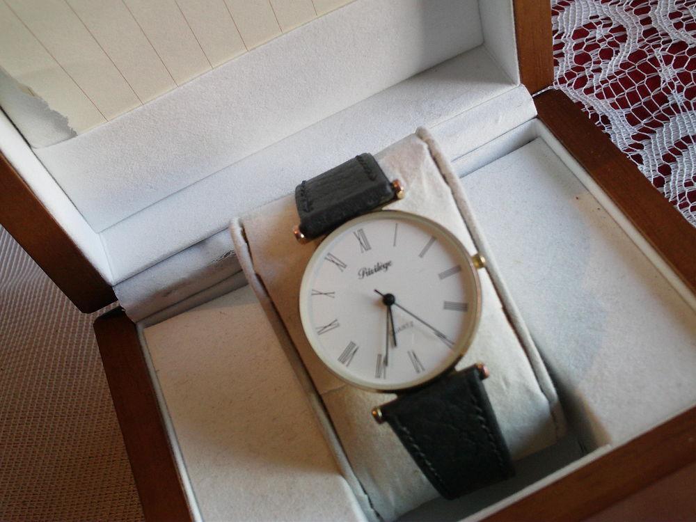 ancienne  montre rustique Privilège plaqué or N° 151 18 Bragny-sur-Saône (71)