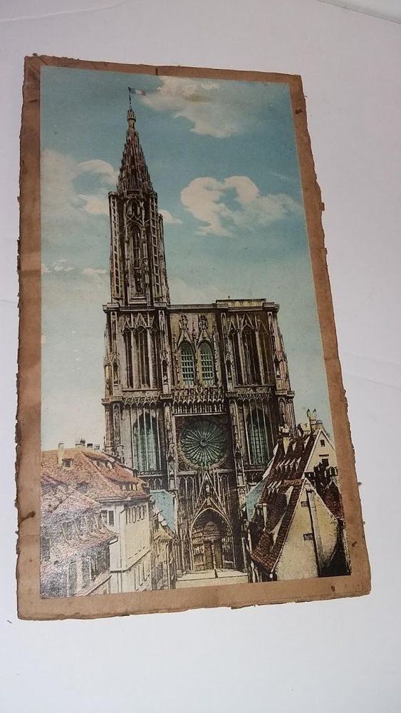 Ancienne photo de la cathédrale de Strasbourg    2 Saumur (49)