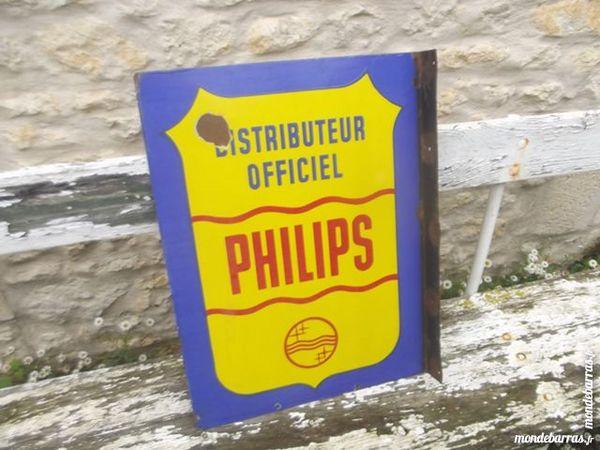 ancienne plaque émaillée PHILIPS 150 Cabariot (17)