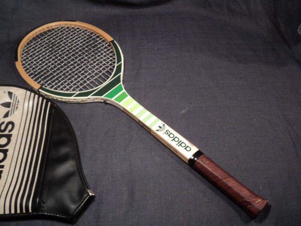 Ancienne Raquette Tennis Adidas  Ads 010 Junior   + Housse.  20 Loches (37)