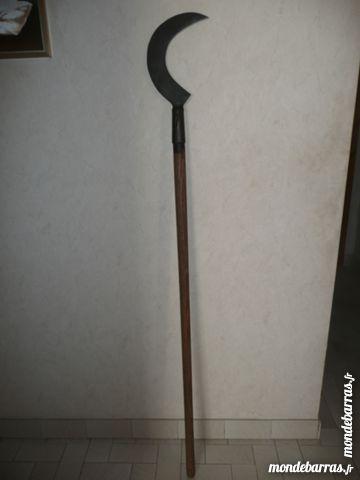Ancienne Serpe à long manche 25 Pontcharra (38)