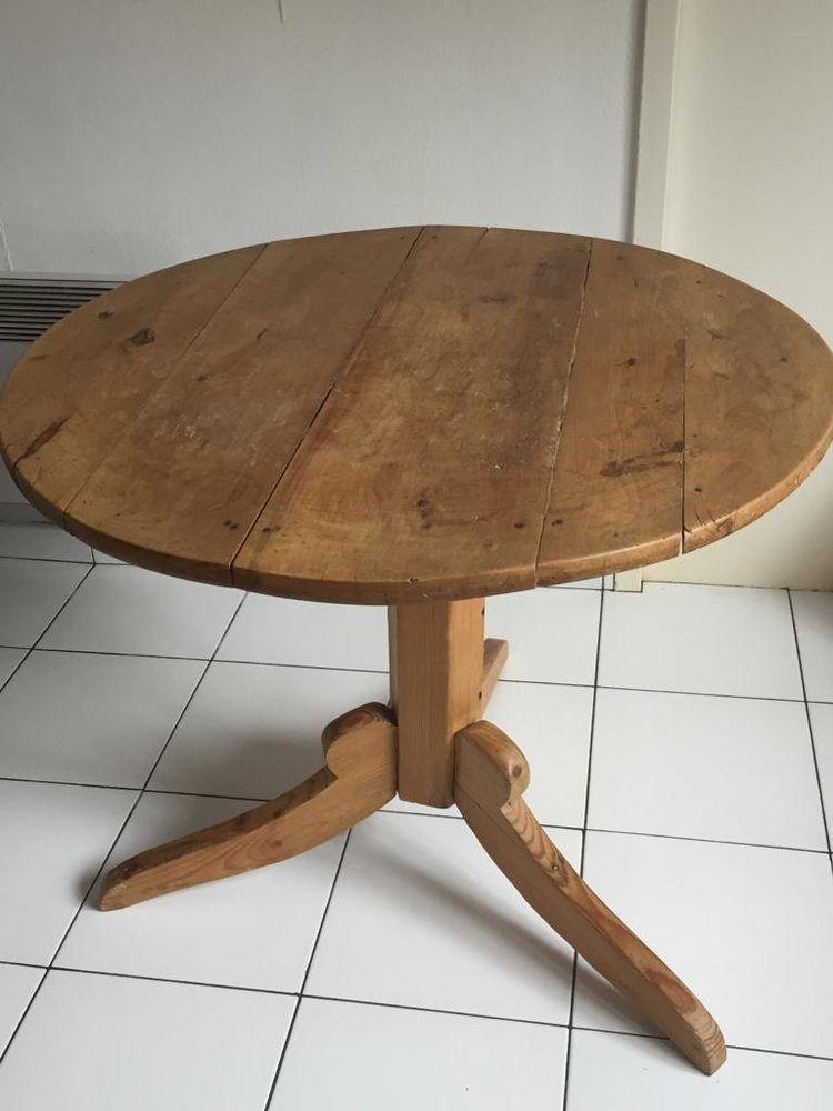 Ancienne table fermière d'Alsace 100 Valenciennes (59)