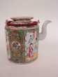 Ancienne Théière Porcelaine Chine Chinois Décoration