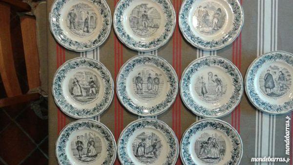 Anciennes assiettes parlantes 100 Muret (31)