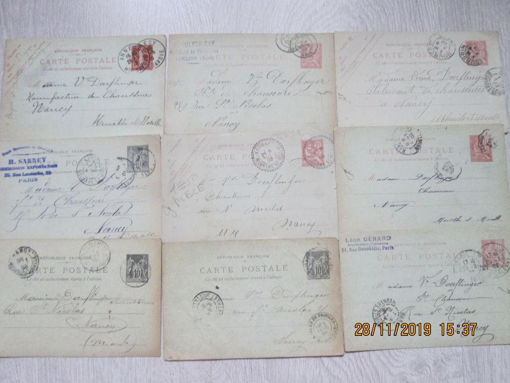 Anciennes cartes timbrées. 6 Les Forges (88)