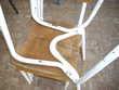 4 anciennes chaises Meubles