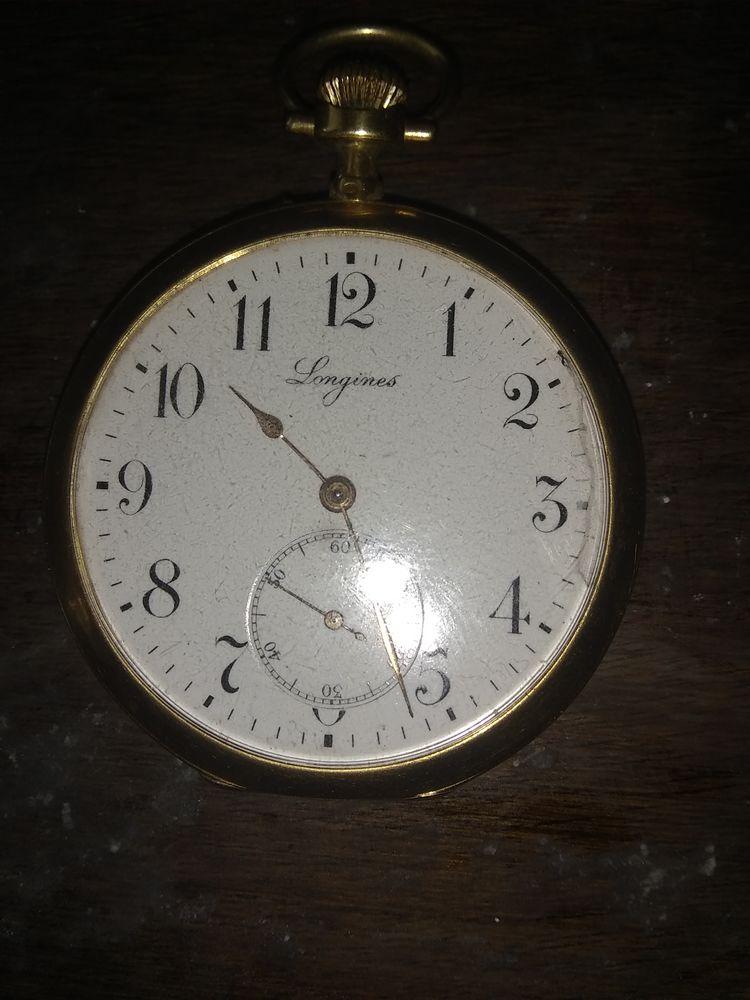 Anciennes Longines et autres montres a gousset et autres 200 Fontenay-le-Fleury (78)