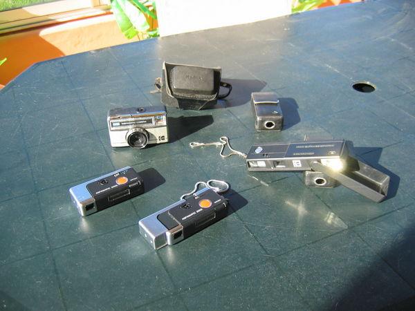 1 lot 4 anciens appareils photos 30 Le Vernois (39)