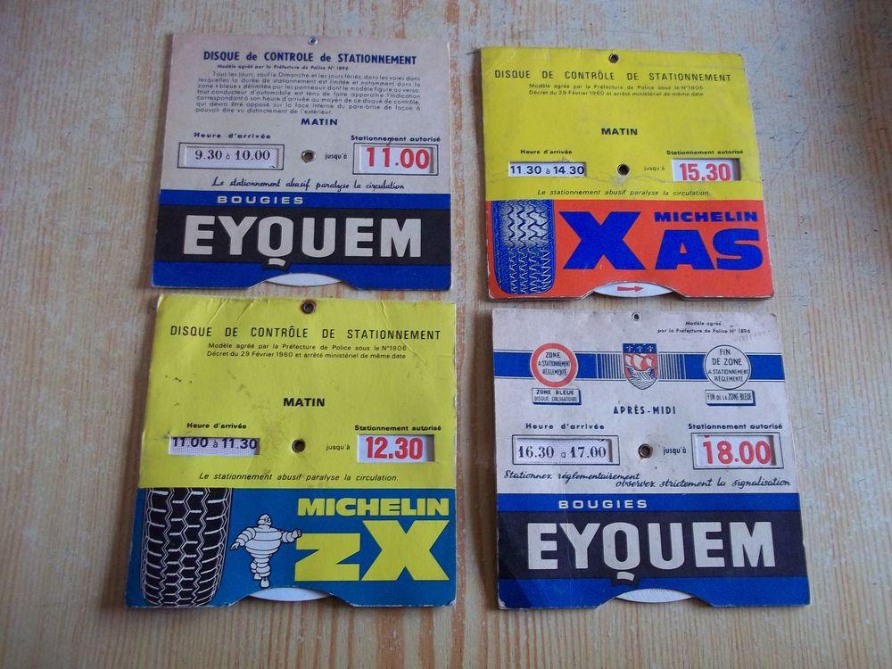 4 anciens  disques  de  stationnement   3 Raismes (59)