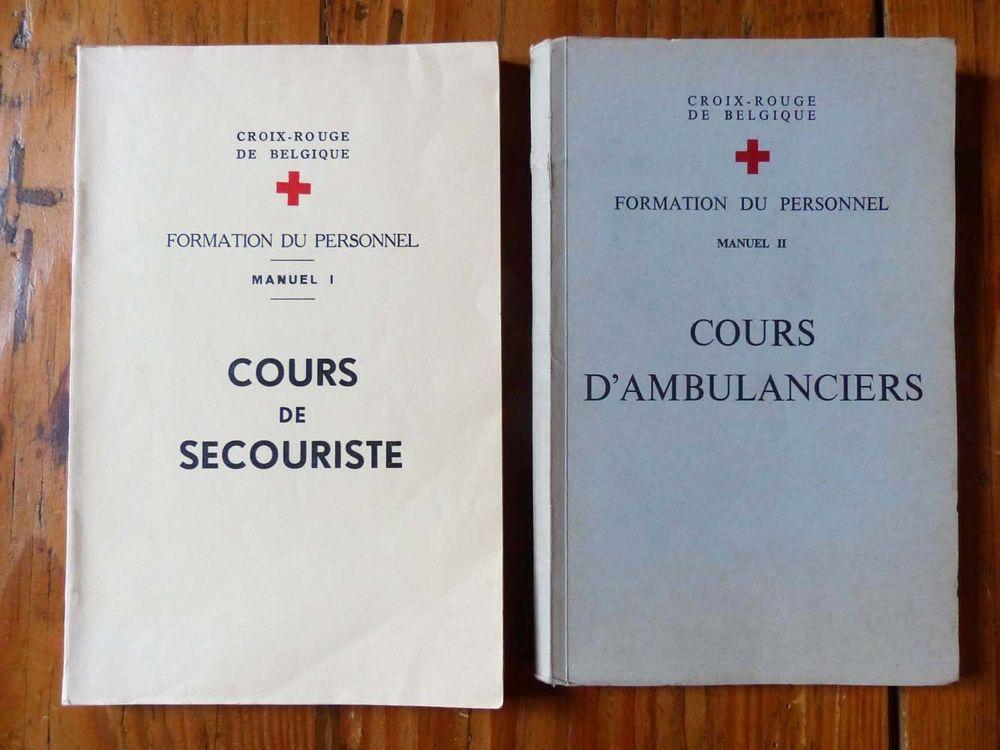 Lot de 2 anciens manuels de secourisme 25 Strasbourg (67)