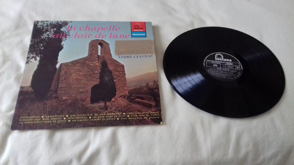 ANDRE CLAVEAU, chansons 1940-1960, vinyle 33 tours 10 Éragny (95)