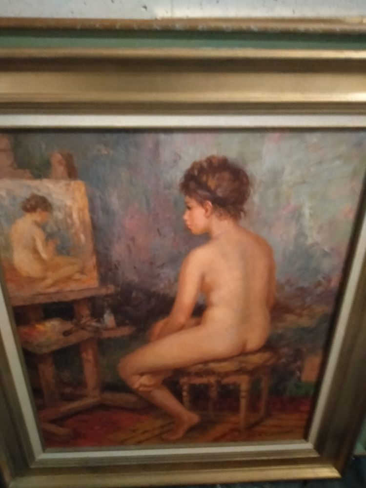 Nue d André galzenati élève d auguste Renoir 0 Toulon (83)