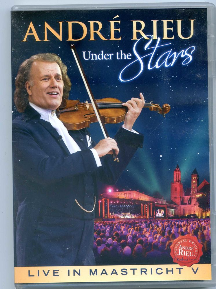 André Rieu - Under the stars, CD et vinyles