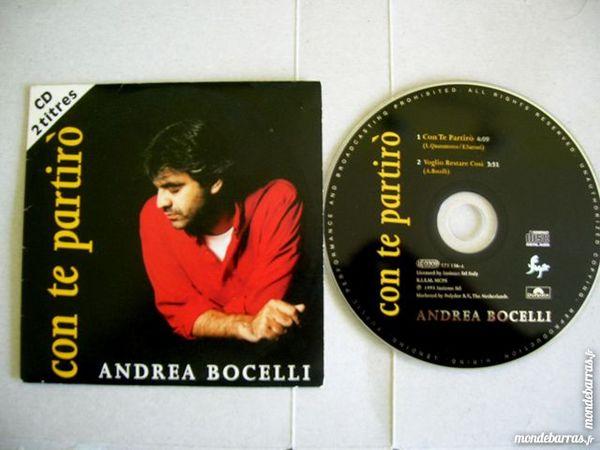 CD ANDREA BOCELLI Con te partiro 4 Nantes (44)