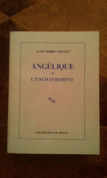 Angélique Ou L'Enchantement A. Robbe-Grillet. 1988 Livres et BD