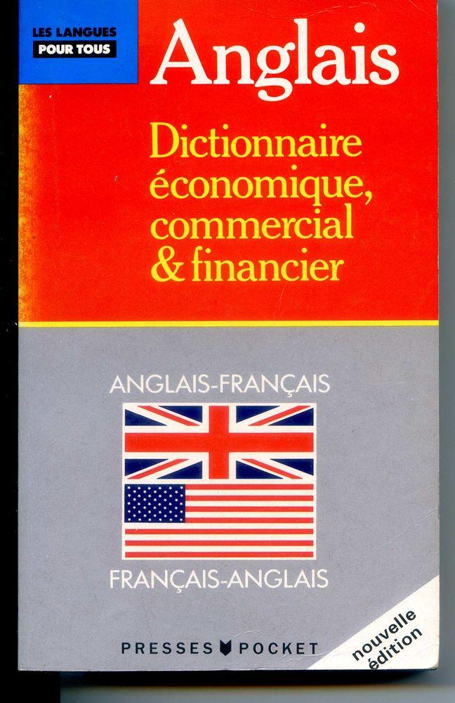 Anglais dictionnaire economique commercial et financier 4 Rennes (35)