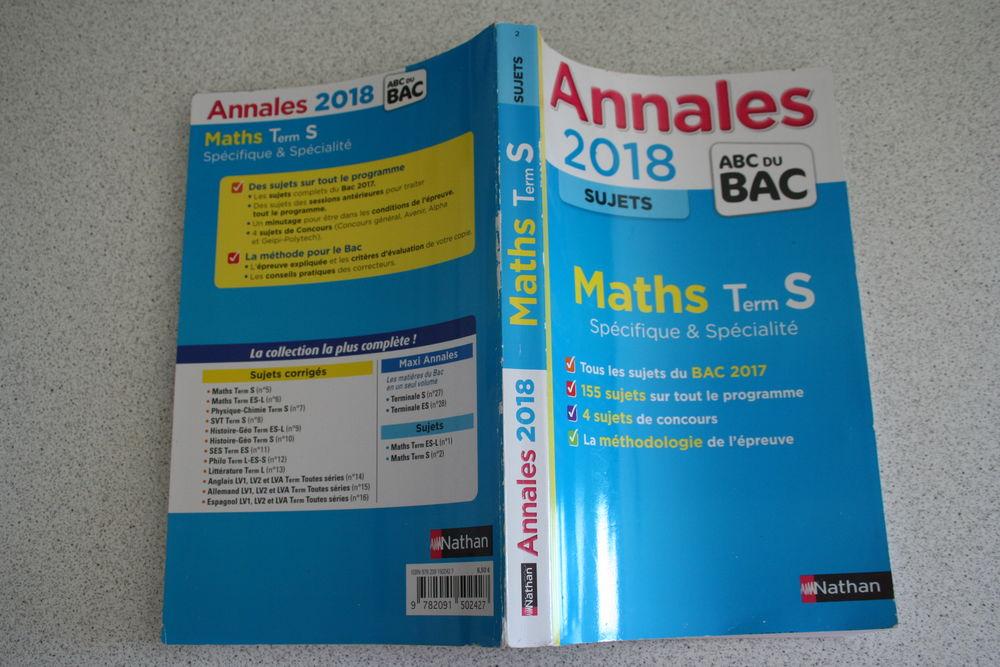 Annales Sujets BAC 2018 Maths Terminale S MIROTON 2 Tournefeuille (31)