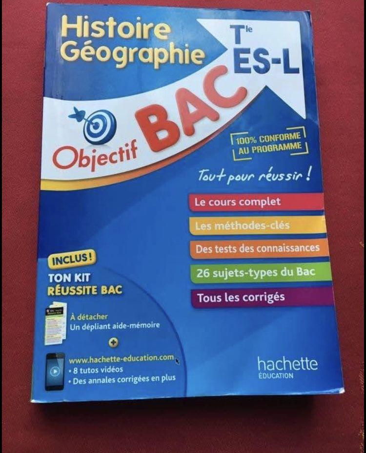 Annales bac TERMINAL ES neuf 20 Grasse (06)