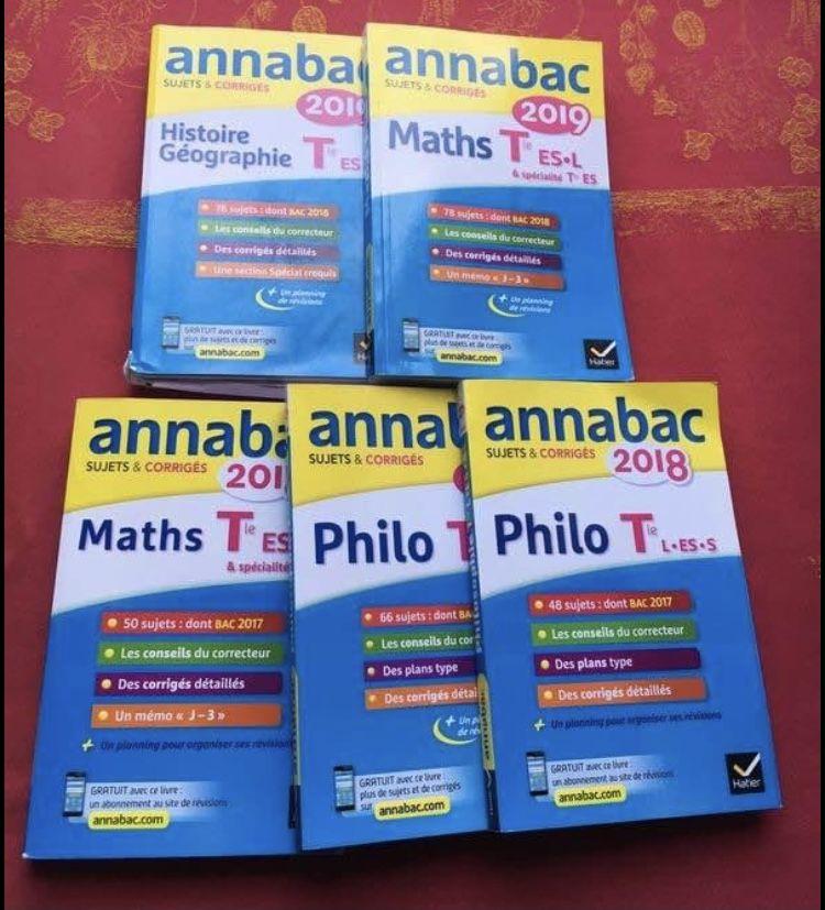 Annales bac Terminal ES 20 Grasse (06)