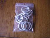 10 anneaux ronds blanc/or INSPIRE 1 Brouckerque (59)