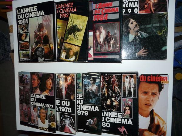 L'année du Cinéma  9 livres en bon état. 54 Grignan (26)
