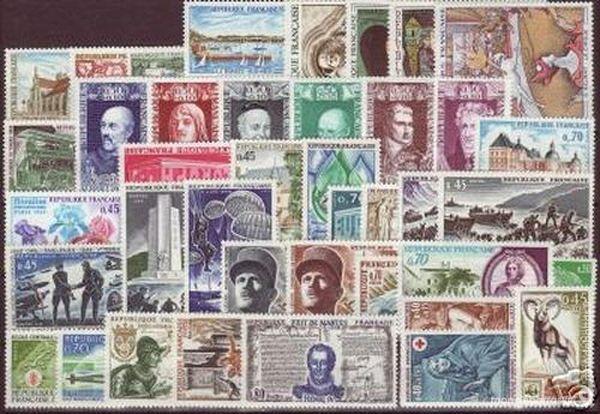 Année complète timbres France 1969 NEUFS** 8 La Seyne-sur-Mer (83)