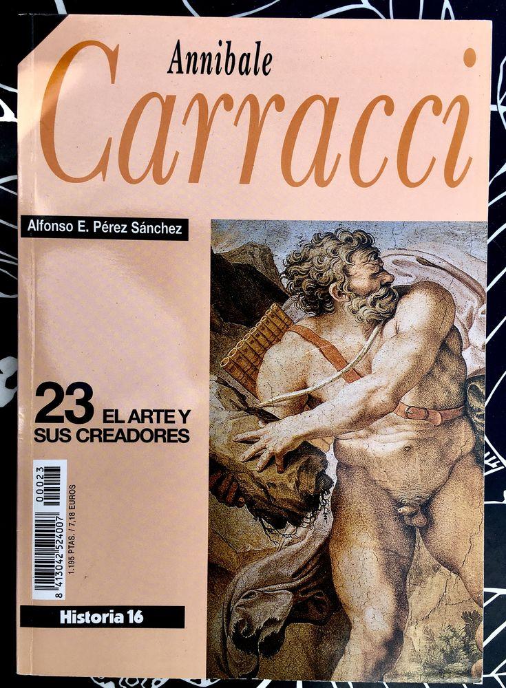 Annibale CARRACCI; Livre d'art broché Neuf en Espagnol, 146p 5 L'Isle-Jourdain (32)