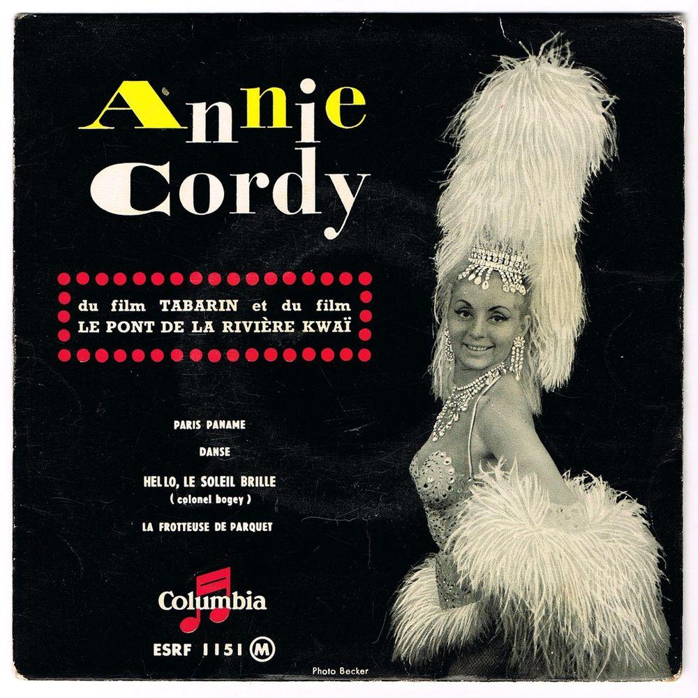 ANNIE CORDY - 45t EP - HELLO LE SOLEIL BRILLE - BIEM 1958 CD et vinyles