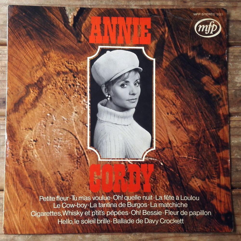 ANNIE CORDY -33t- HELLO LE SOLEIL BRILLE - DAVY CROCKETT  5 Tourcoing (59)