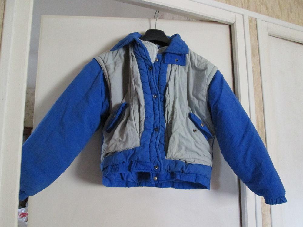 Anorak enfant bleu et gris Taille 10 ans  10 Goussainville (95)