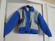 Anorak enfant bleu et gris Taille 10 ans