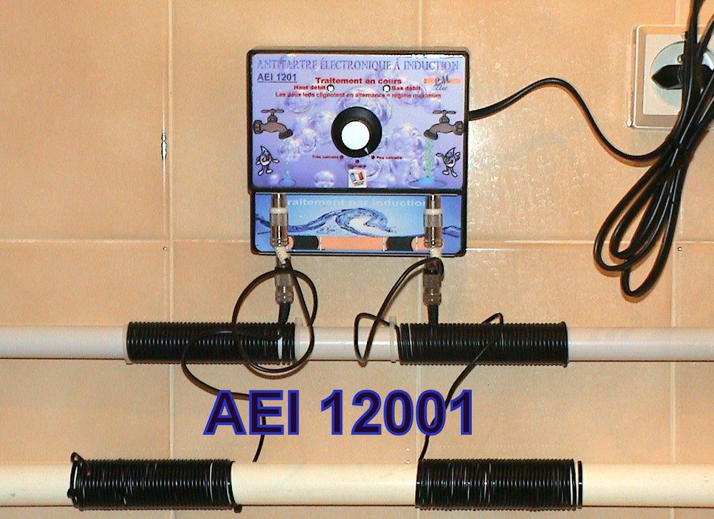 Appareil anti calcaire electronique for Appareil anti calcaire electronique