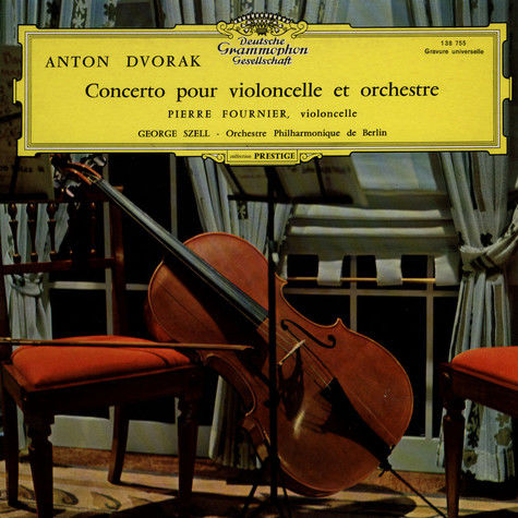 Antonin Dvorak / Pierre Fournier  Cello Concerto 0 Vallauris (06)