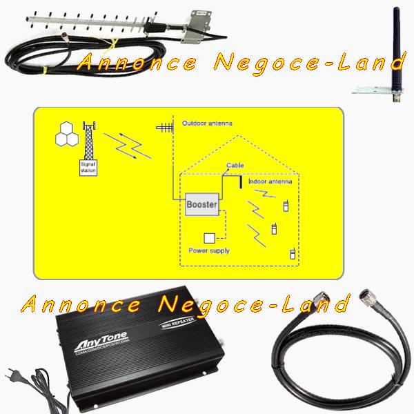 AnyTone AT-6200W - Amplificateur de signal mobile - 3G/GSM 365 Toulouse (31)