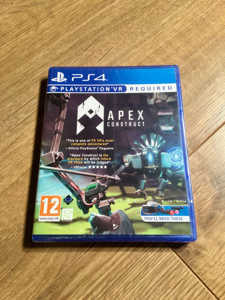 Ps4 - Apex construct VR - neuf 28 Chavenay (78)