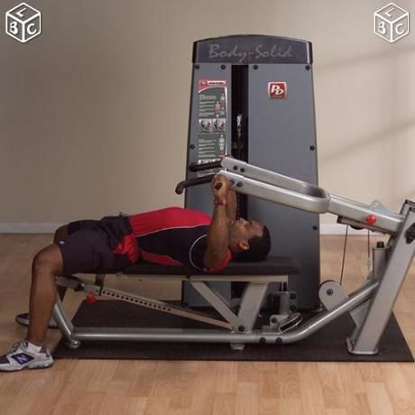 Appareil Musculation Pro Bodysolid Dual Pectoraux / Epaules  600 Floirac (33)