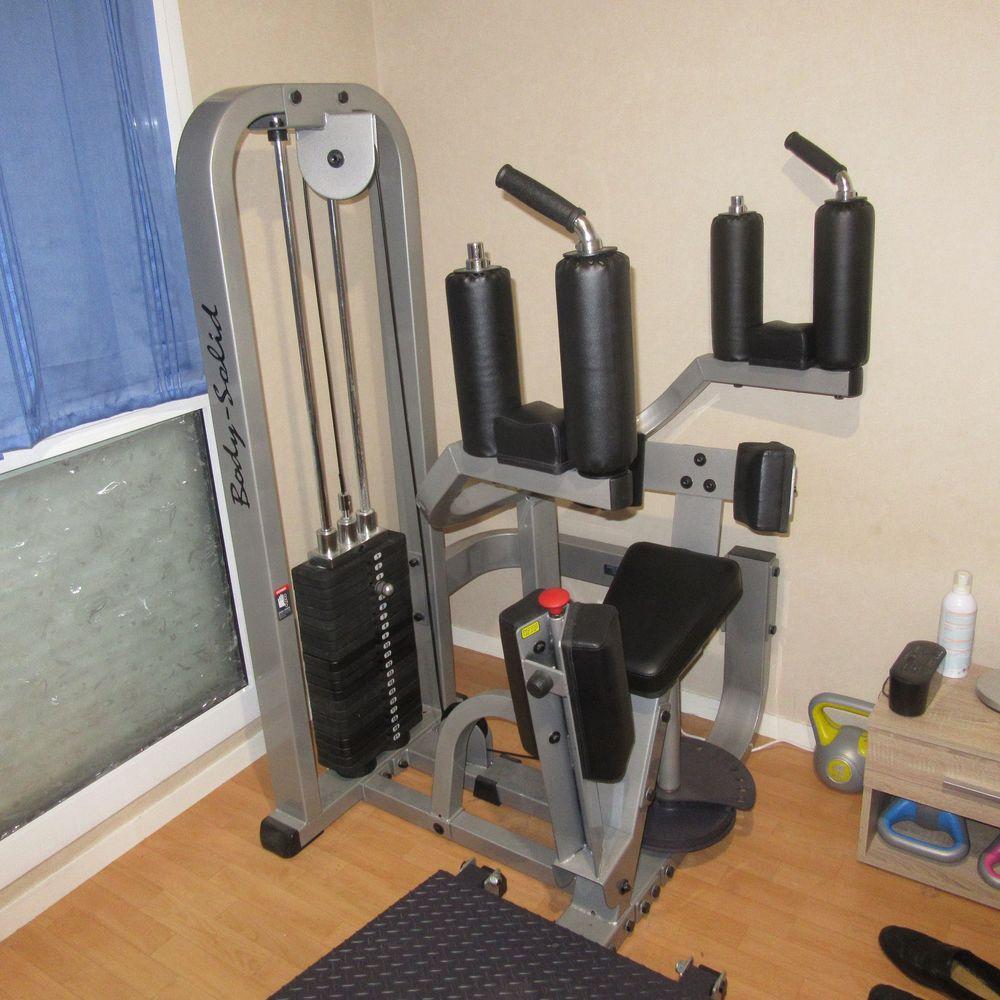 Appareil de musculation Rotary Torso Machine BODYSOLID 1300 Rennes (35)