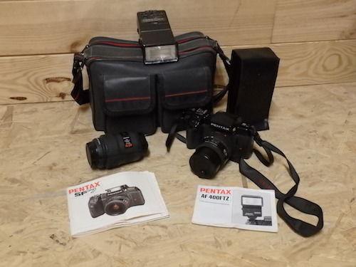 appareil photo argentique PENTAX SF7 50 Cheminas (07)