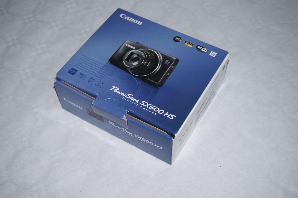 Appareil photo CANON Power Shot SX600 HS Photos/Video/TV