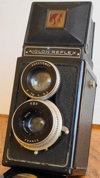Appareil photo de collection Reflex 6x6 AIGLON 40 Antony (92)
