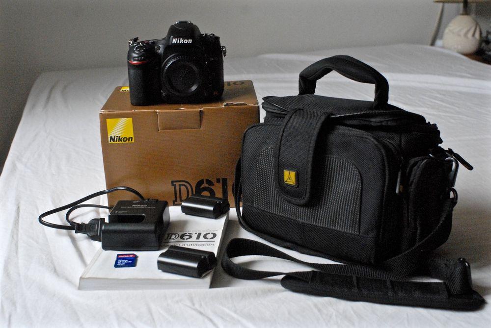 Appareil photo Nikon D610 800 Saint-Maur-des-Fossés (94)