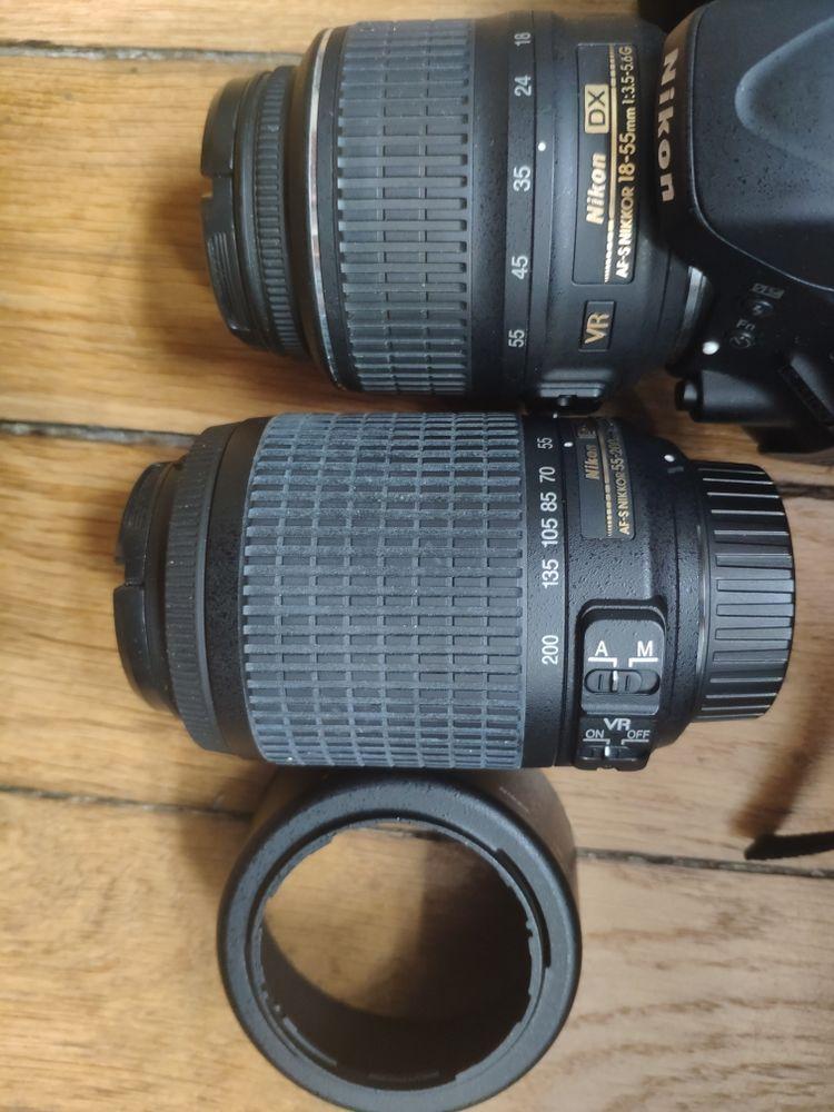 appareil photo Nikon D5100 et obj 18-55 et 55-200 399 Paris 15 (75)