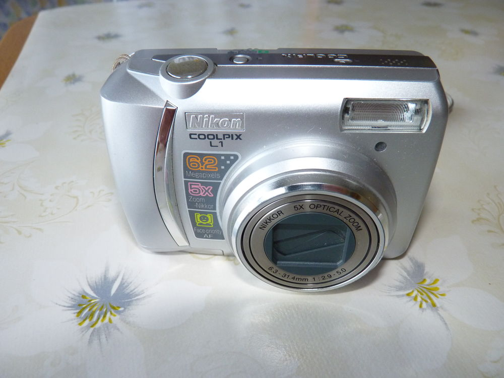 Appareil photo numérique NiKon coolpix L1 45 Étauliers (33)