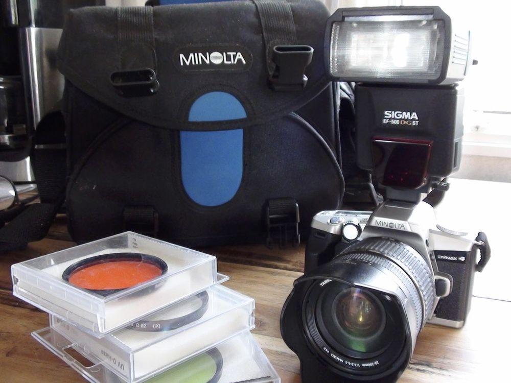 Appareil Photo reflex argentique Minolta Dynax 4 0 Saint-Aigulin (17)