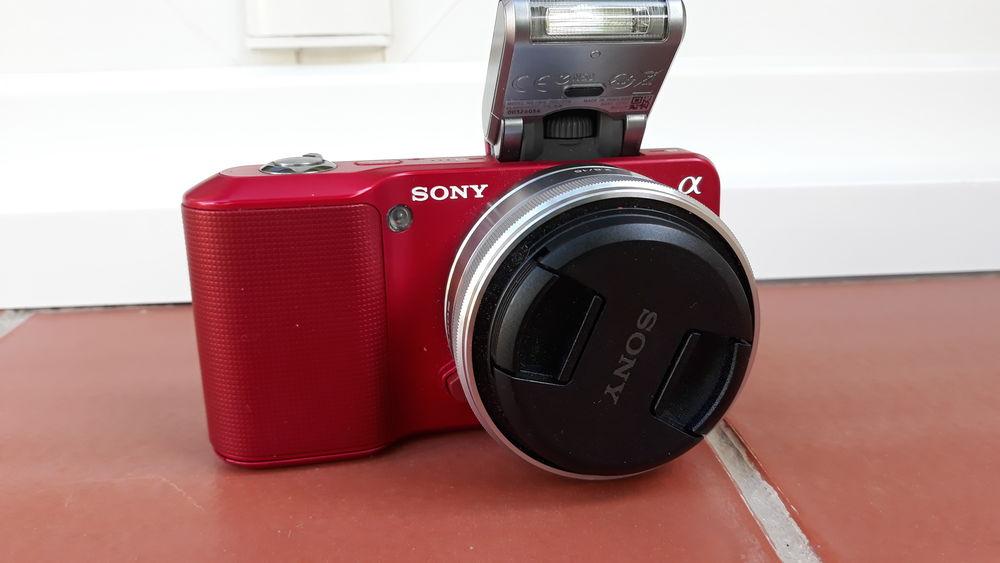appareil photo reflex numérique SONY NEX3 rouge 16mm -  210 Martigues (13)