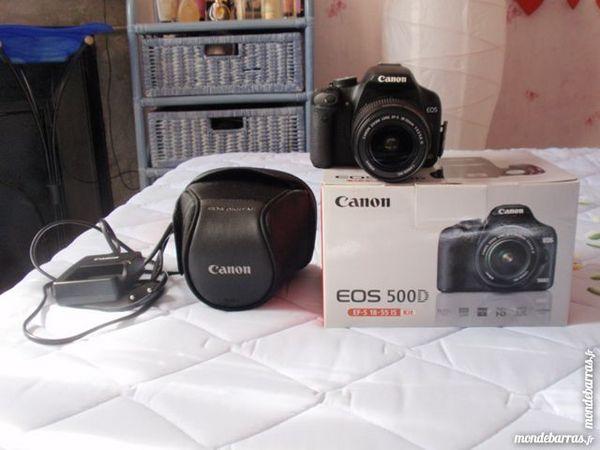 Appareil photoCANON EOS500D objectif EF-S 18-55 IS 475 Lyon 2 (69)