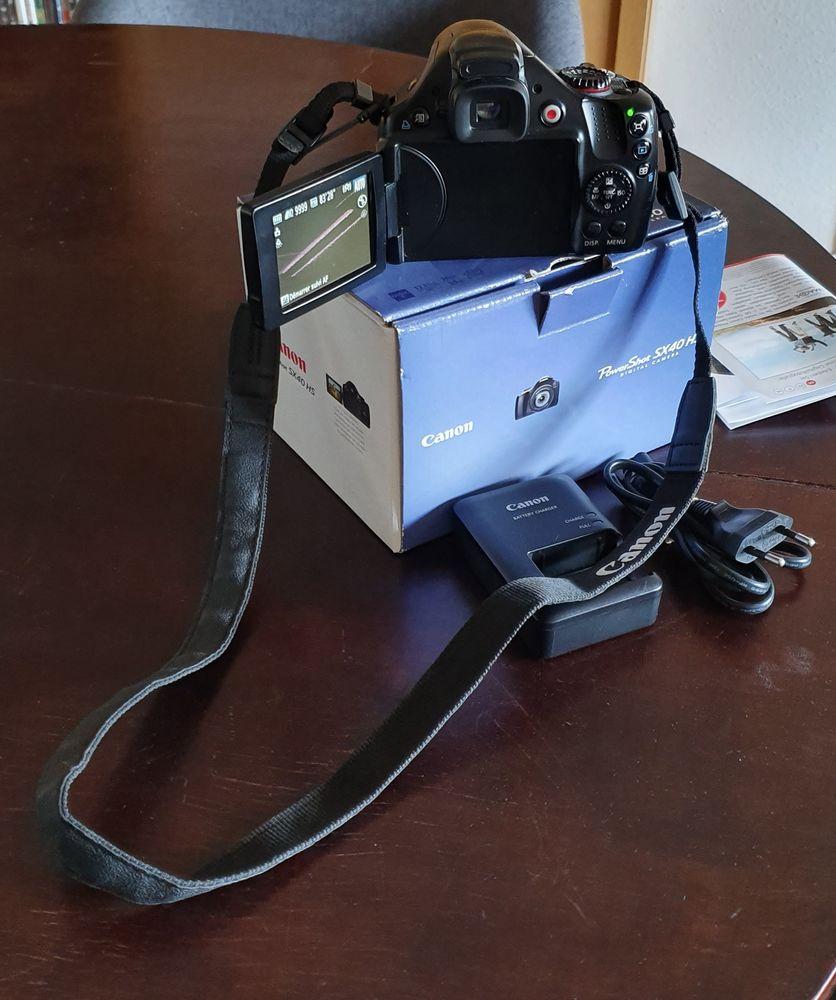 Appareil photos Canon Powershot SX 40 HS 100 Bordeaux (33)