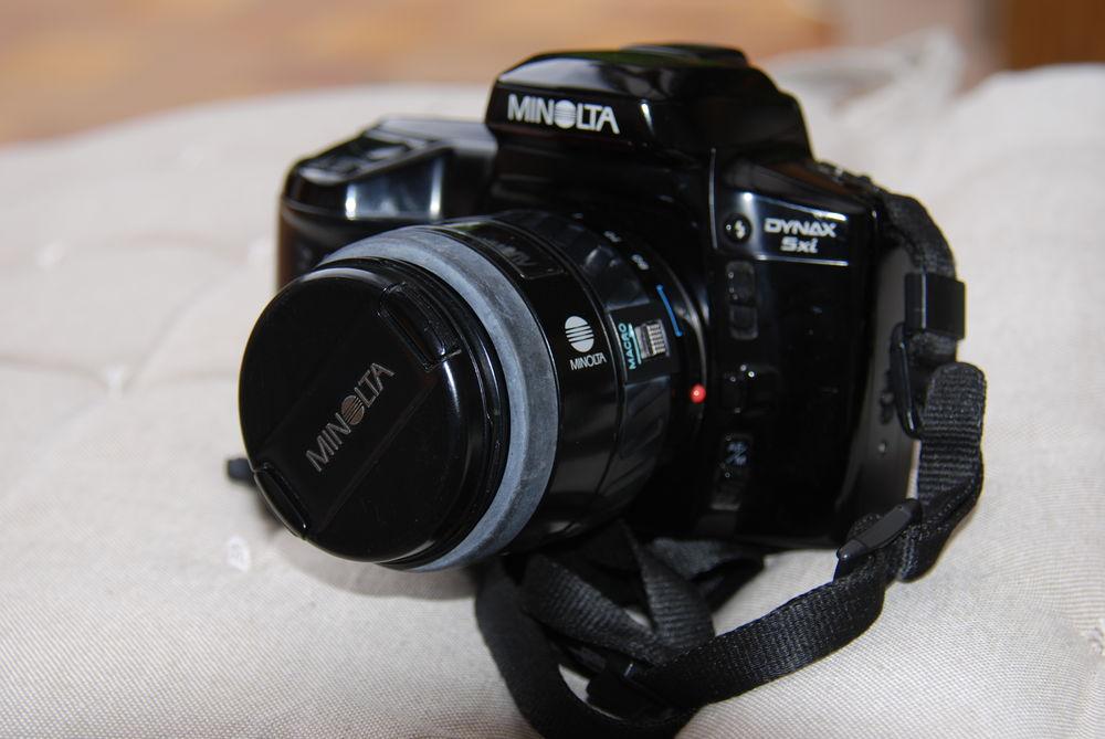 Appareil photos reflex avec objectif et flash     120 Joué-lès-Tours (37)