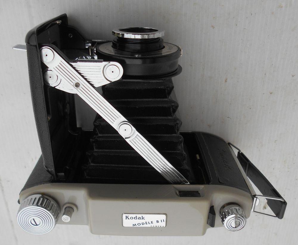 Appareil photos à soufflet ancien à collectionner Kodak B11 20 Castries (34)